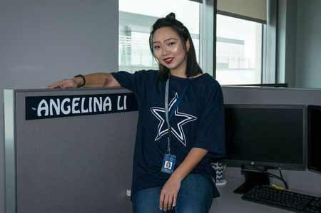 """【我,橄不同】我是Gigi,我在梦中的""""美国之队""""牛仔队工作"""