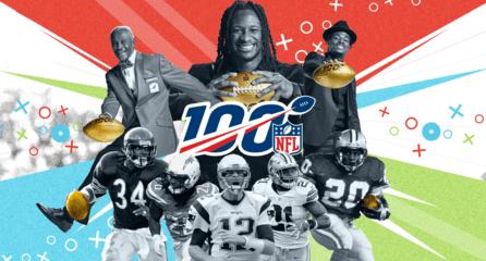 NFL100周年经典瞬间系列插画